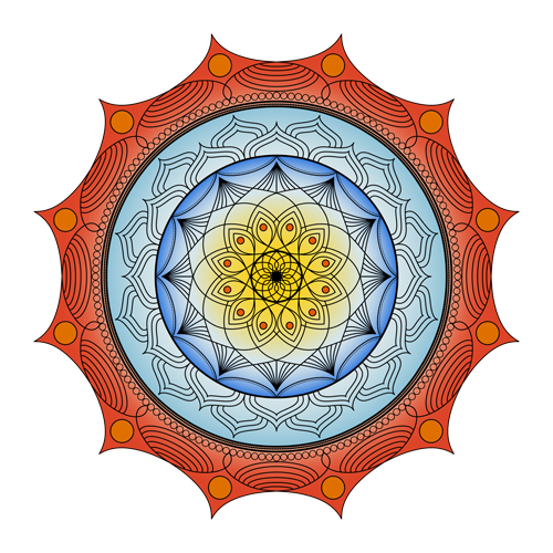 World on Fire Mandala
